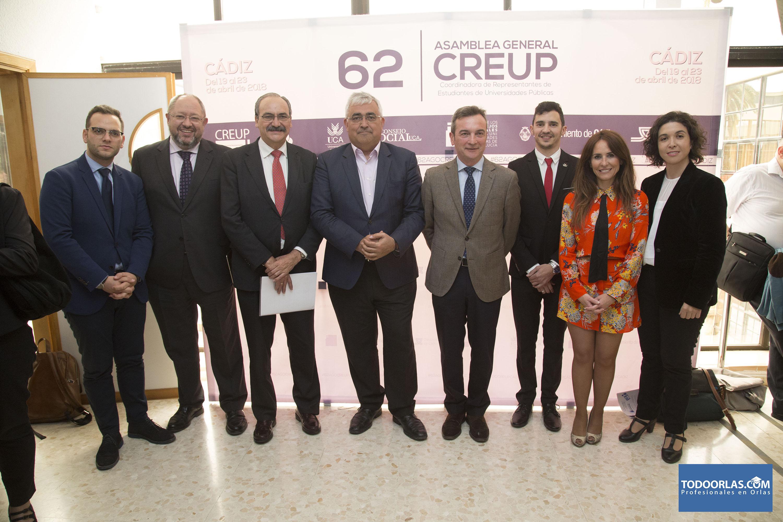 Se inaugura la 62ª Asamblea General de CREUP