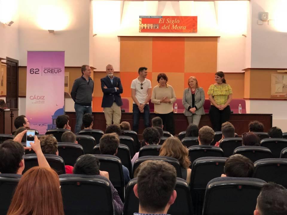 La Universidad recibe a los representantes de CREUP